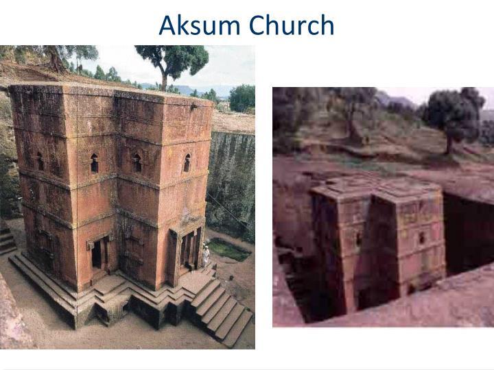 Aksum Church