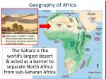 geography of africa1