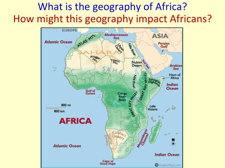 What is the geography of Africa?