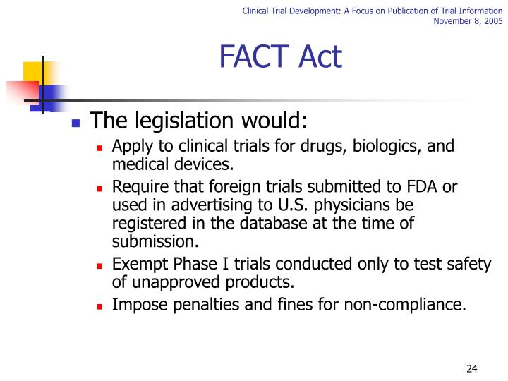 FACT Act