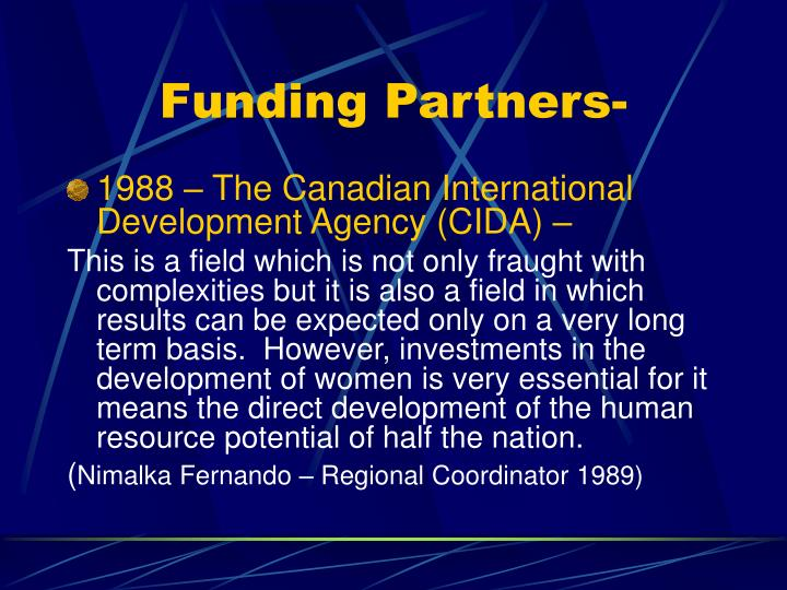 Funding Partners-