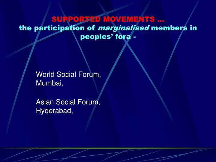 World Social Forum, Mumbai,
