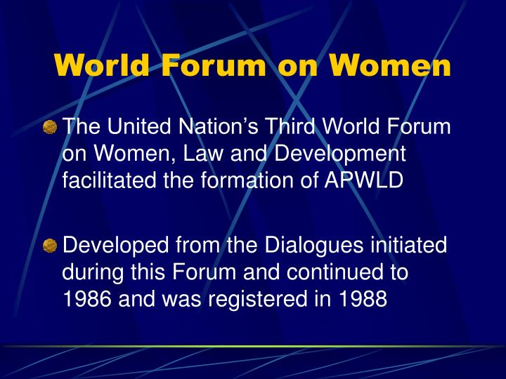 World Forum on Women