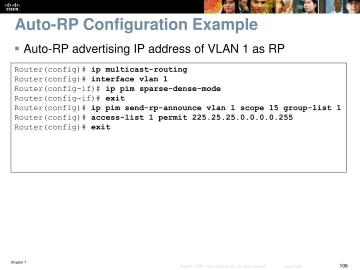 Auto-RP Configuration Example