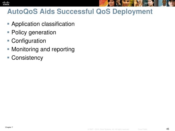 AutoQoS Aids Successful QoS Deployment