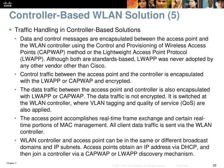 Controller-Based WLAN Solution (5)