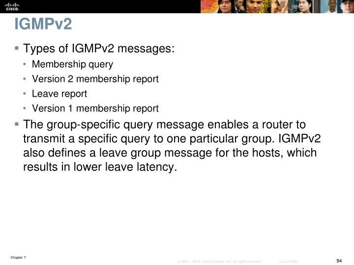 IGMPv2