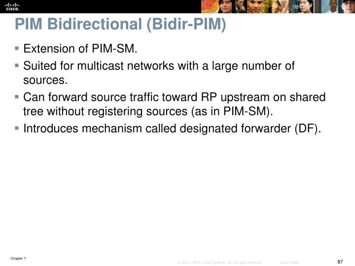 PIM Bidirectional (Bidir-PIM)