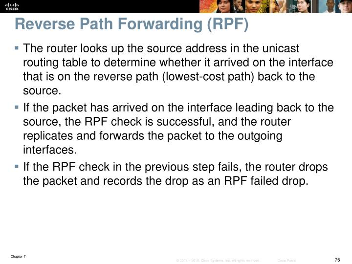 Reverse Path Forwarding (RPF)