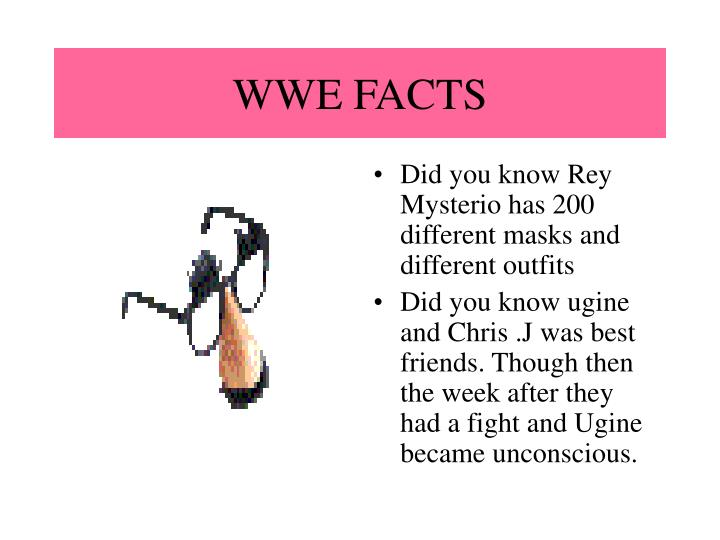WWE FACTS