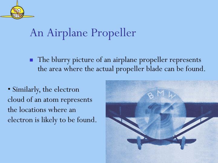 An Airplane Propeller