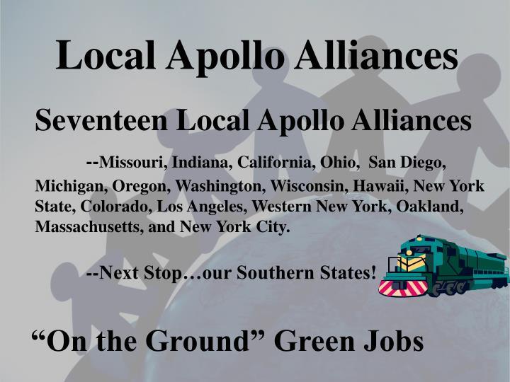 Local Apollo Alliances