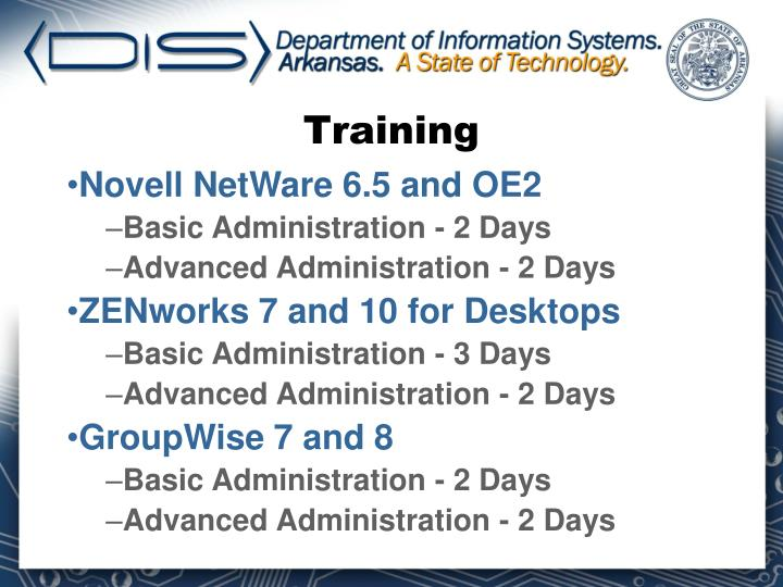 Novell NetWare 6.5 and OE2
