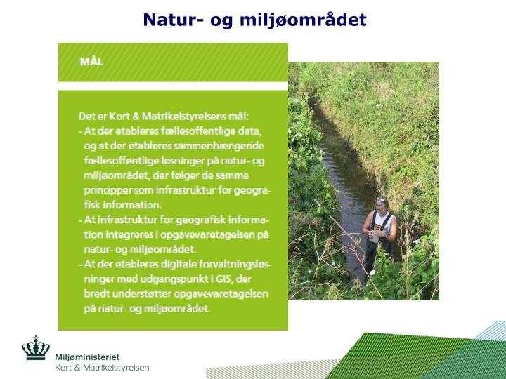 Natur- og miljøområdet
