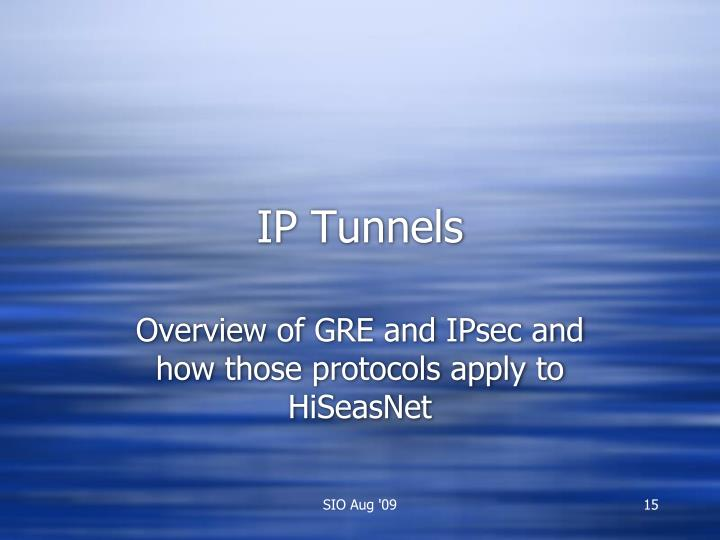 IP Tunnels