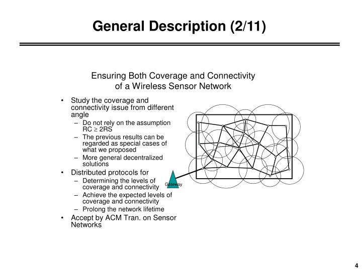 General Description (2/11)
