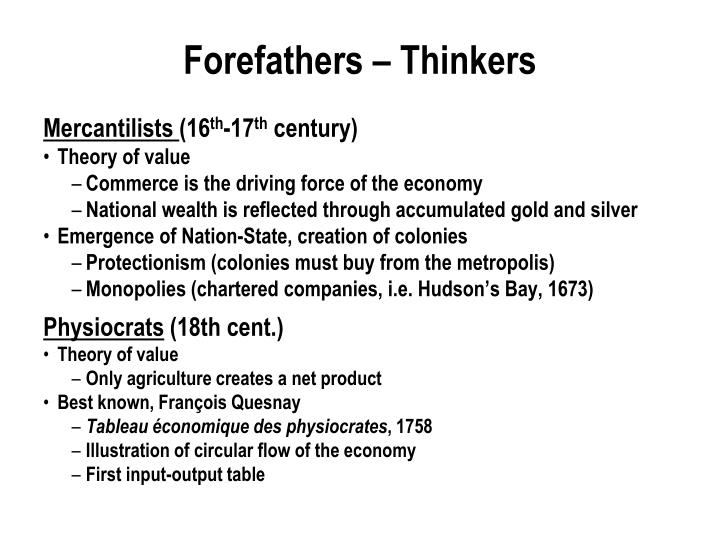 Forefathers – Thinkers