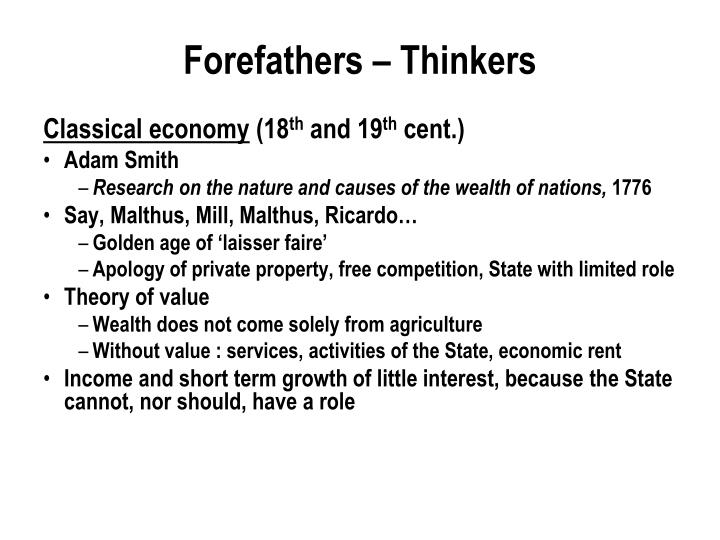 Forefathers thinkers1
