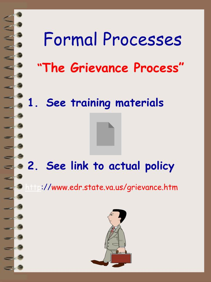Formal Processes