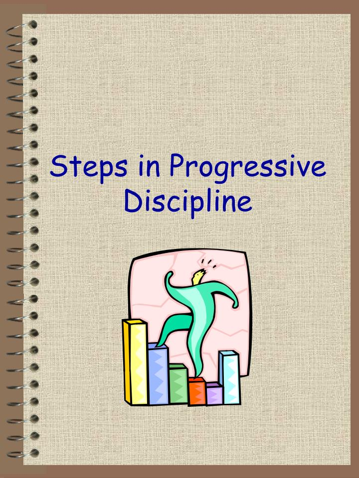 Steps in Progressive Discipline
