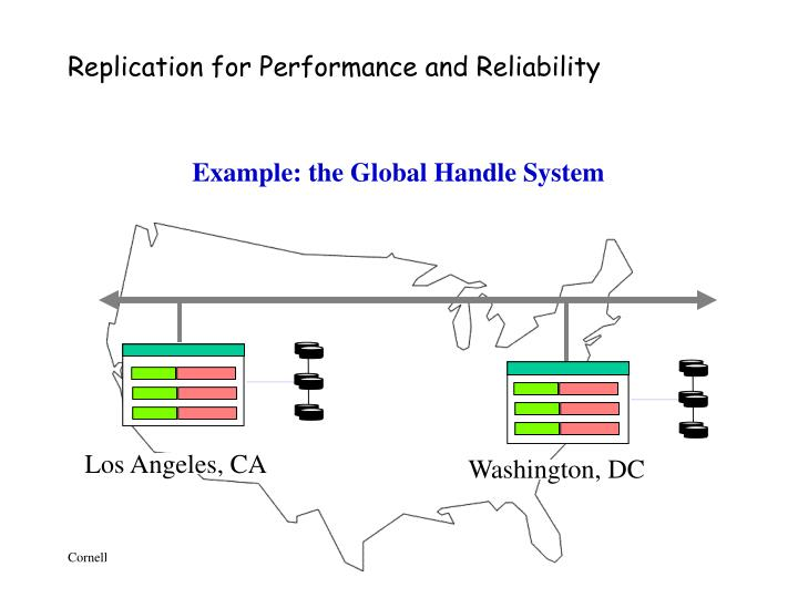 Replication for Performance and Reliability