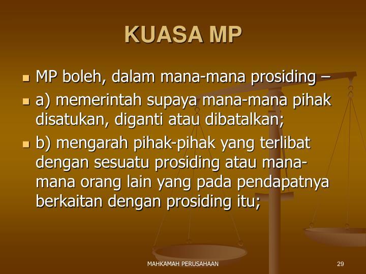 KUASA MP
