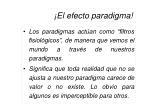 el efecto paradigma