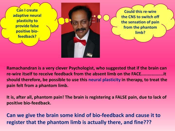 Can I create adaptive neural plasticity to provide false positive bio-feedback?