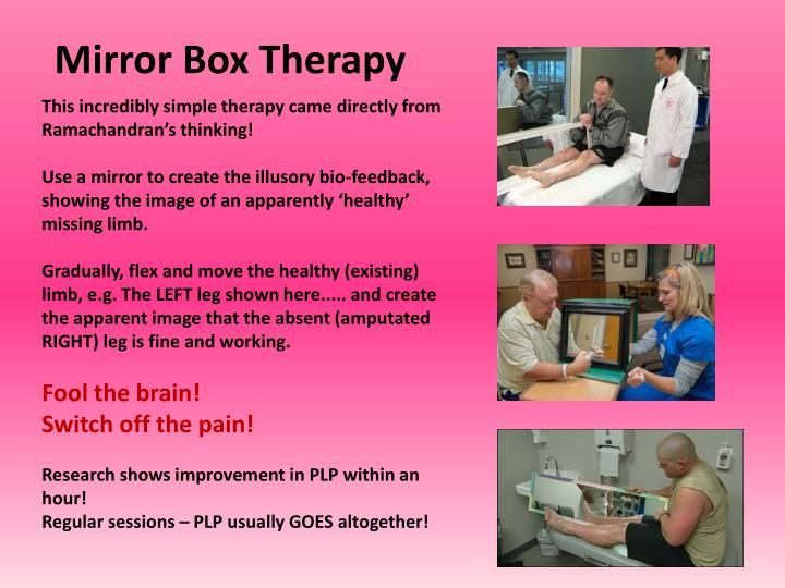 Mirror Box Therapy