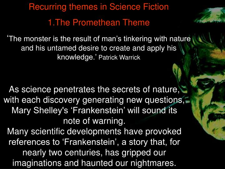 Recurring themes in Science Fiction