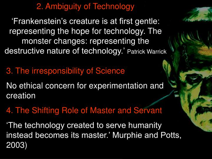 2. Ambiguity of Technology