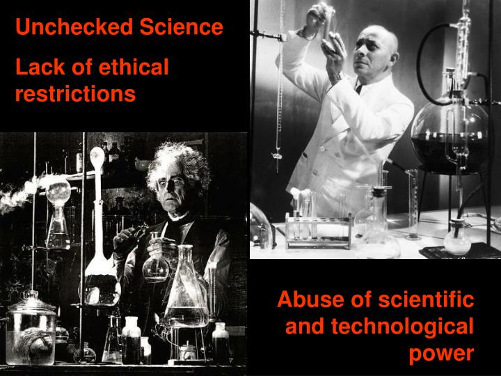 Unchecked Science