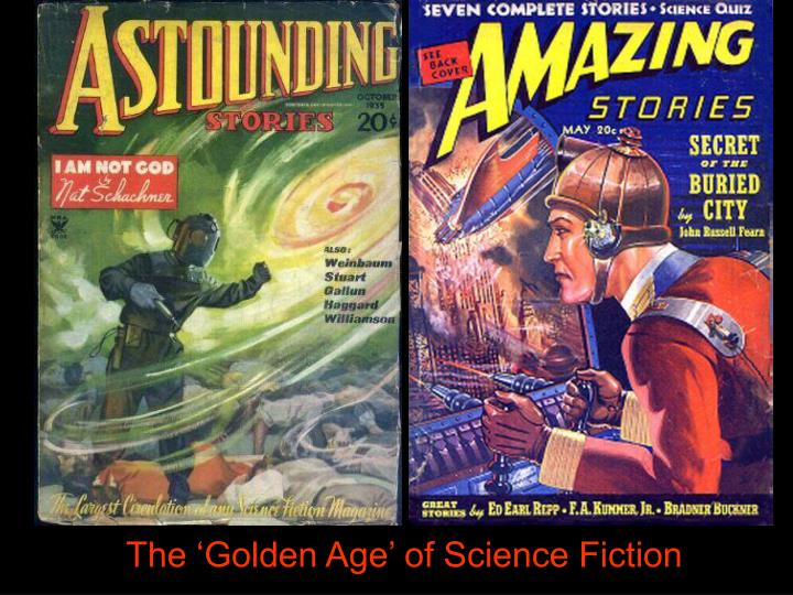 The 'Golden Age' of Science Fiction