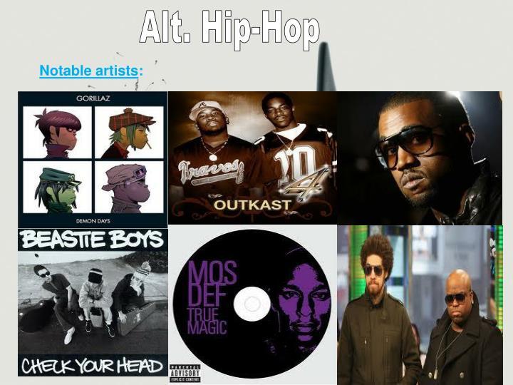 Alt. Hip-Hop