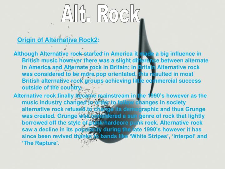 Alt. Rock