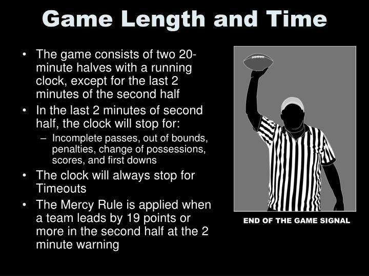 Game Length and Time