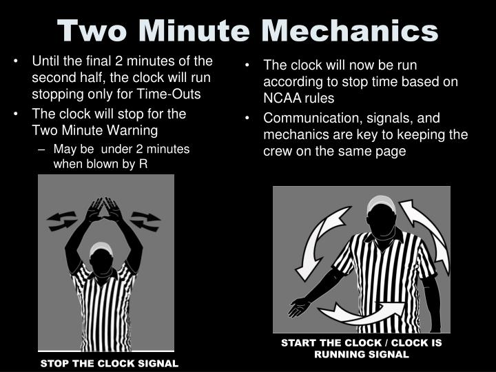 Two Minute Mechanics