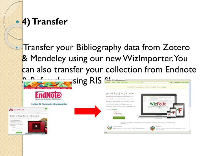 4) Transfer