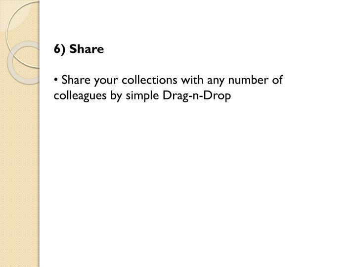 6) Share