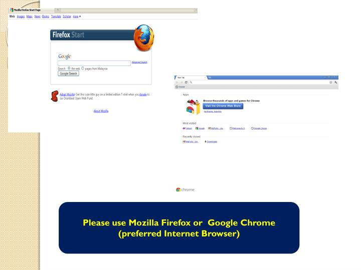 Please use Mozilla Firefox or  Google Chrome