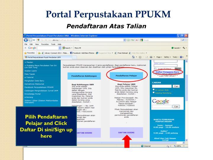 Portal Perpustakaan PPUKM