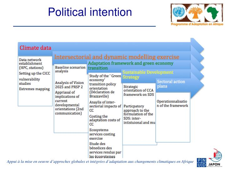 Political intention