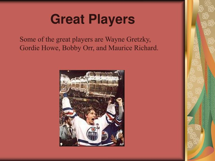 Great Players