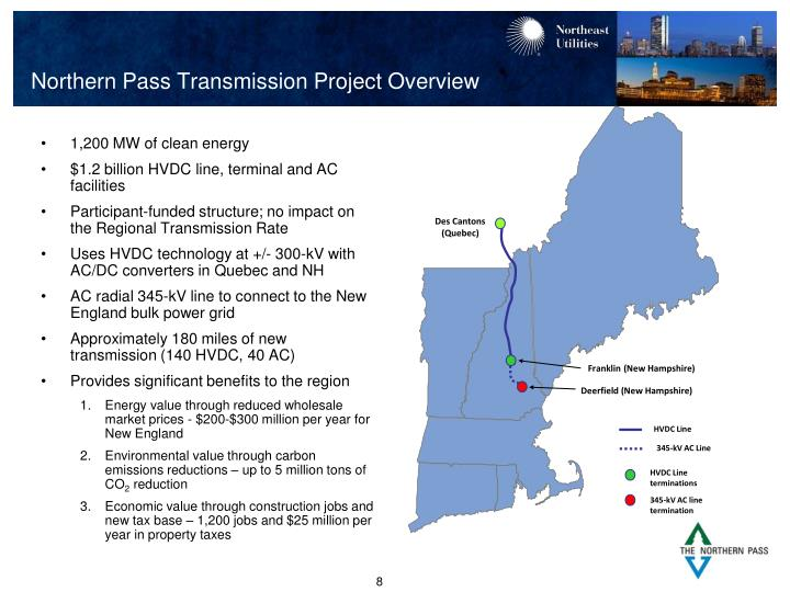 Northern Pass Transmission Project Overview