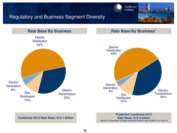 Regulatory and Business Segment Diversity