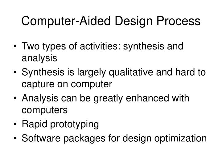 Computer-Aided Design Process