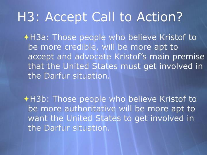 H3: Accept Call to Action?