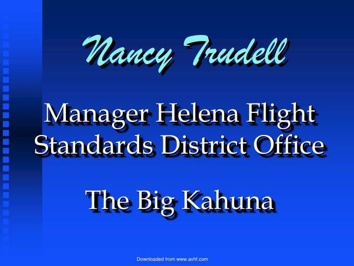 Nancy Trudell