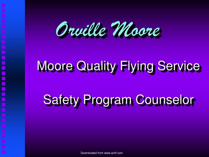 Orville Moore