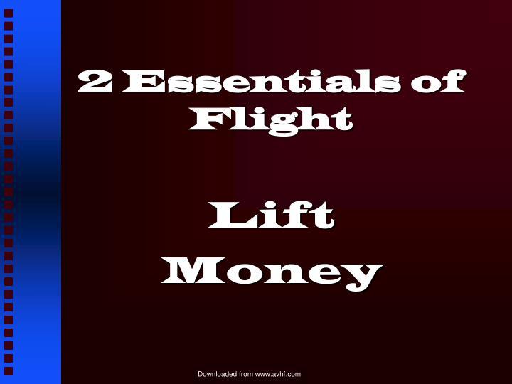 2 Essentials of Flight